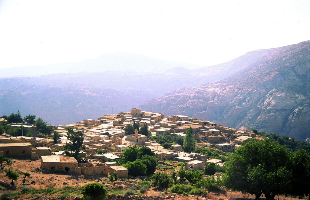 Dana Biosphere Reserve. Image courtesy of Jordan Tourism Board