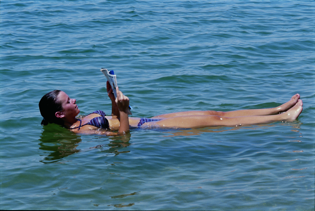 Floating-in the Dead Sea. Image courtesy of Jordan Tourism Board