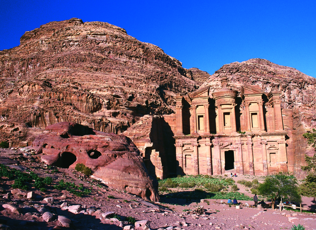 Petra Monastery Image courtesy of Jordan Tourism Board