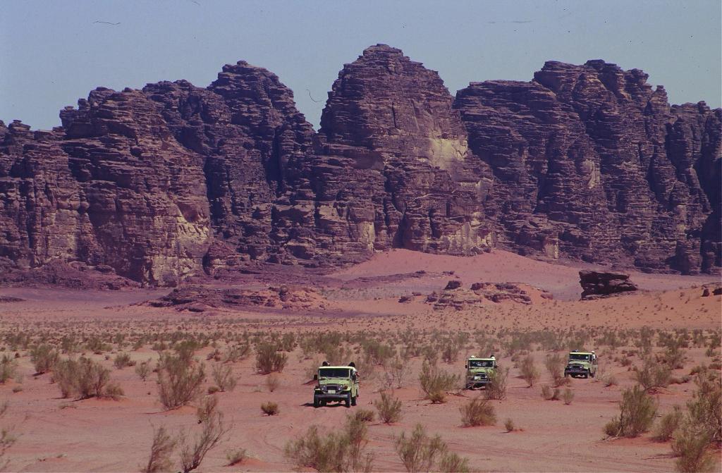 Wadi Rum. Image courtesy of Jordan Tourism Board