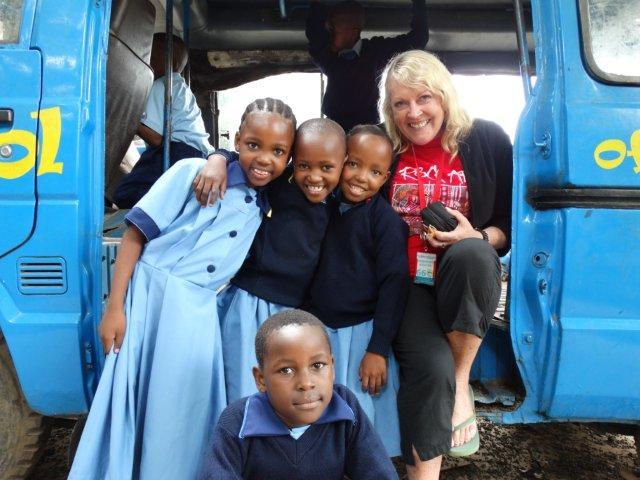 Maggie Walsh in Tanzania