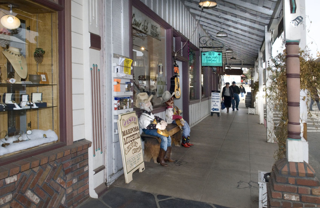 Downtown Mariposa. Image courtesy of Yosemite/Mariposa County Tourism Bureau