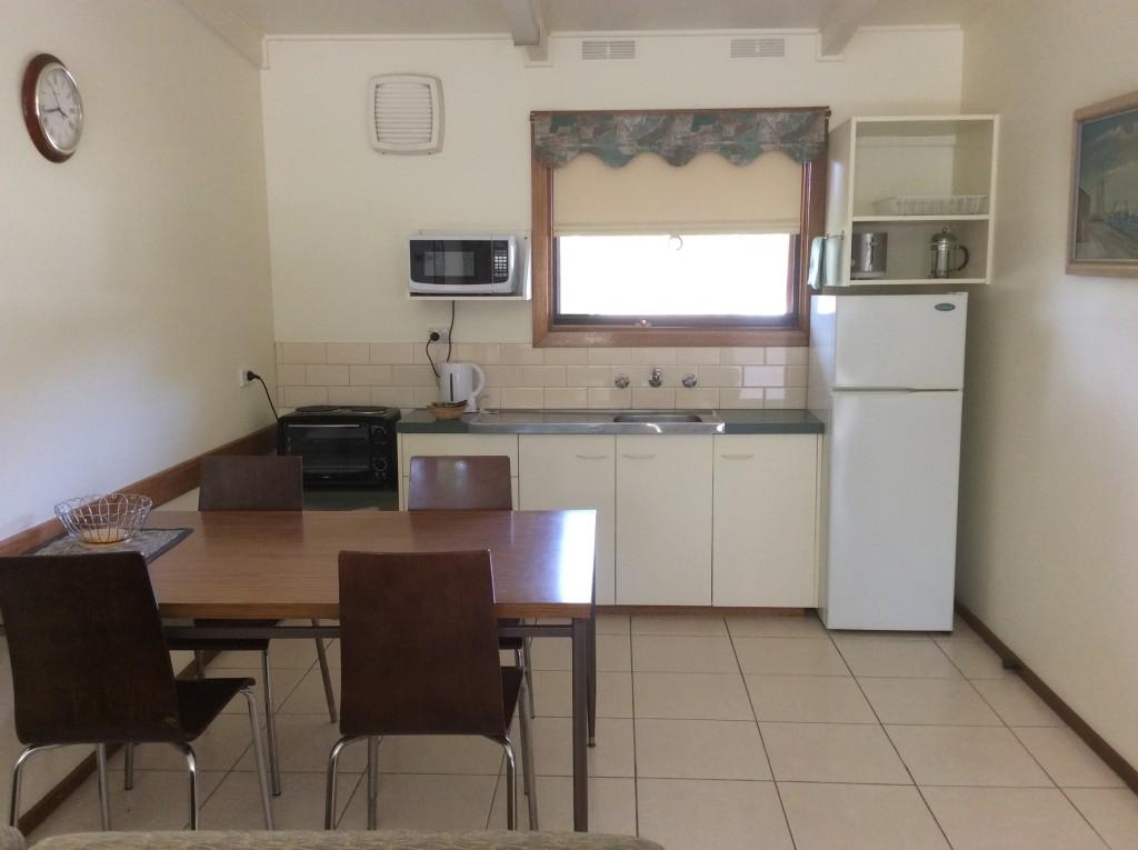 The kitchen area Halls Haven Resort, the Grampians, Victoria