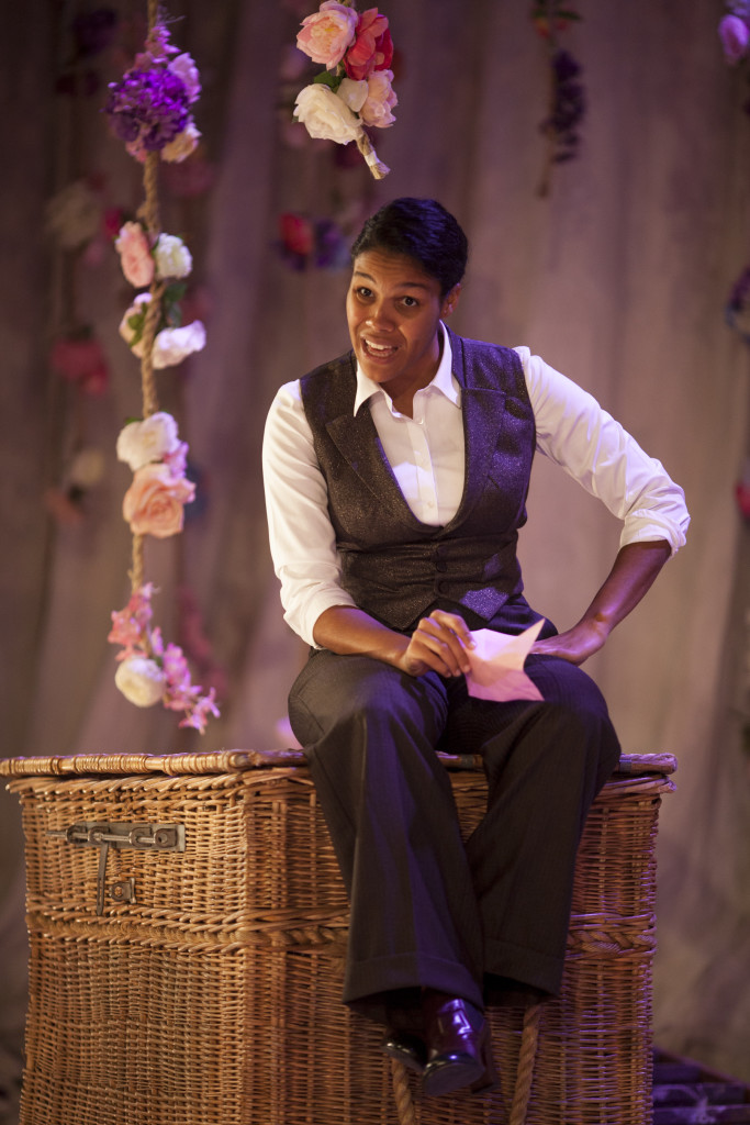 Zahra Newman as Ganymede in As You Like It. Image ®Rush