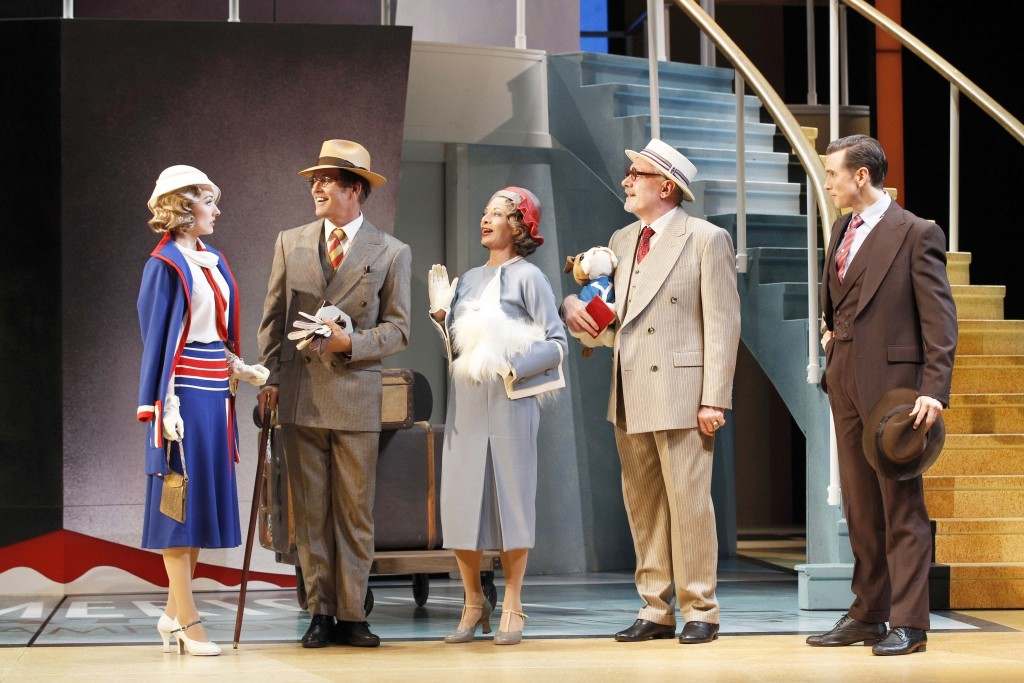 Claire Lyon, Todd McKenney, Carmen Duncan, Bartholomew John and Alex Rathgeber. Picture by Jeff Busby.