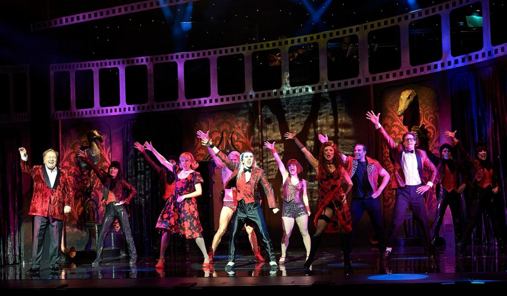 The cast of the Rocky Horror Show. Picture by Brian Geach