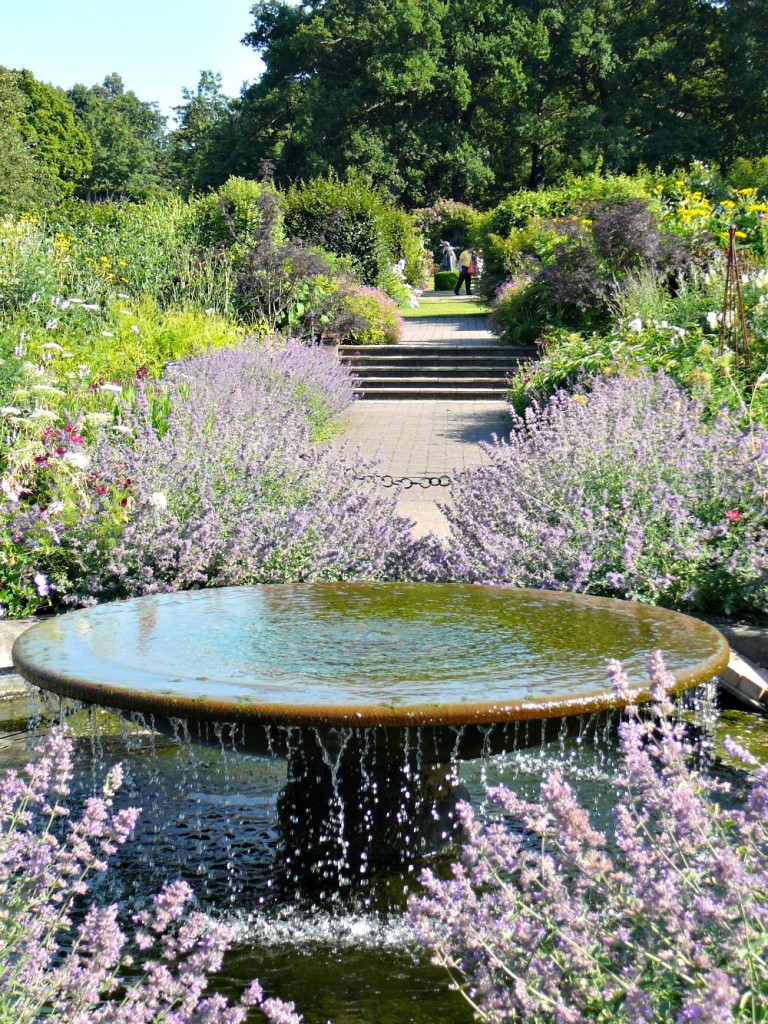 One of the garden areas at Wisley.