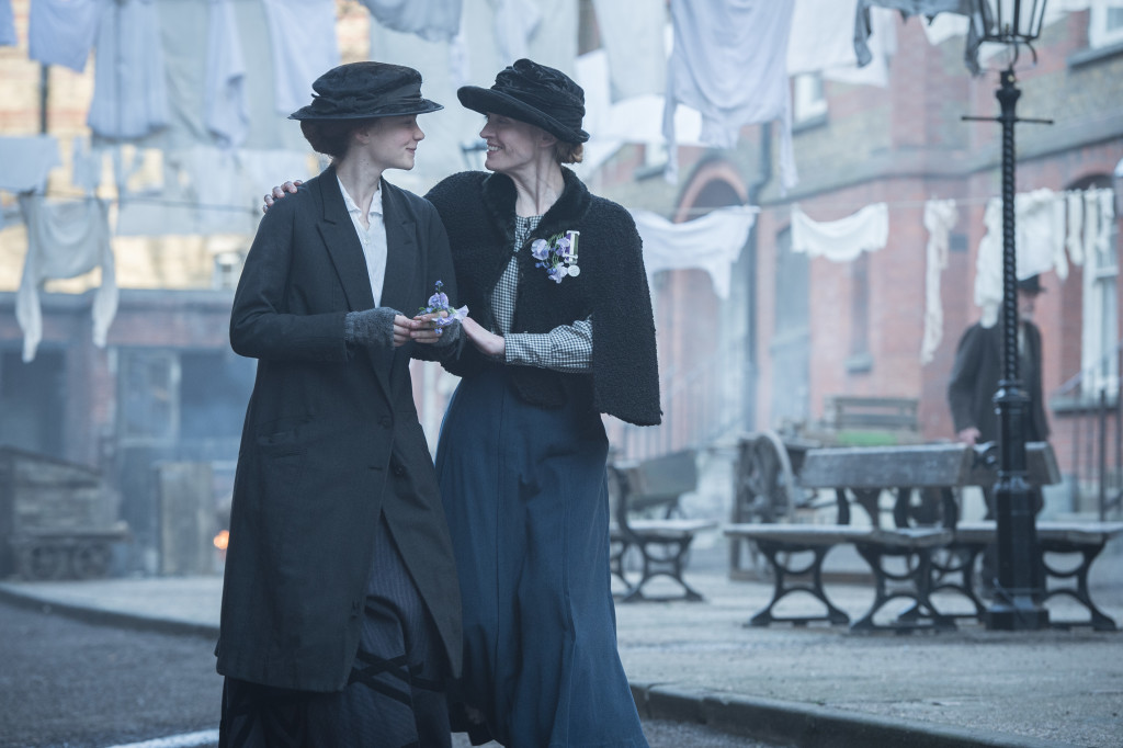 Carey Mulligan as Maud Watts and Anne Marie Duff as Violet Miller