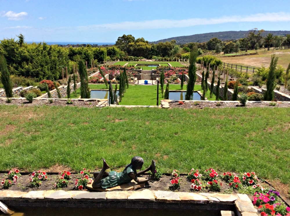 The seven hidden gardens at Panorama Garden Estate.
