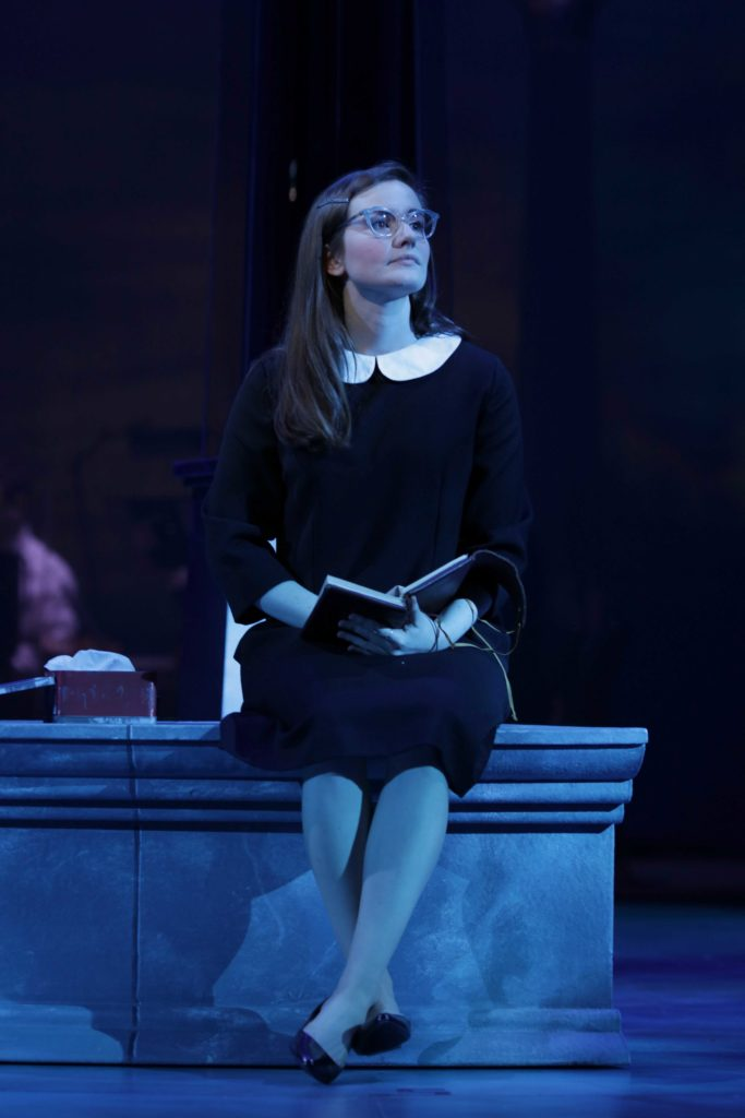Sarah Morrison plays Lisa in Ladies in Black.