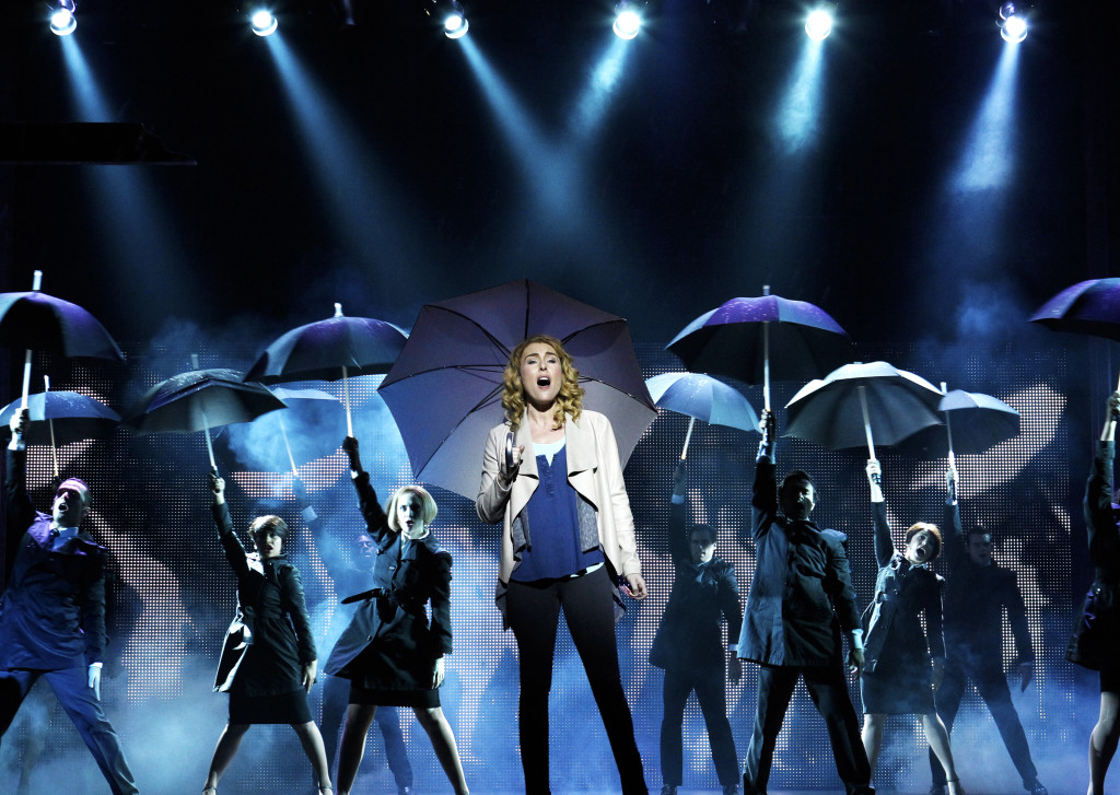Jemma Rix and the cast of Ghost the Musical.