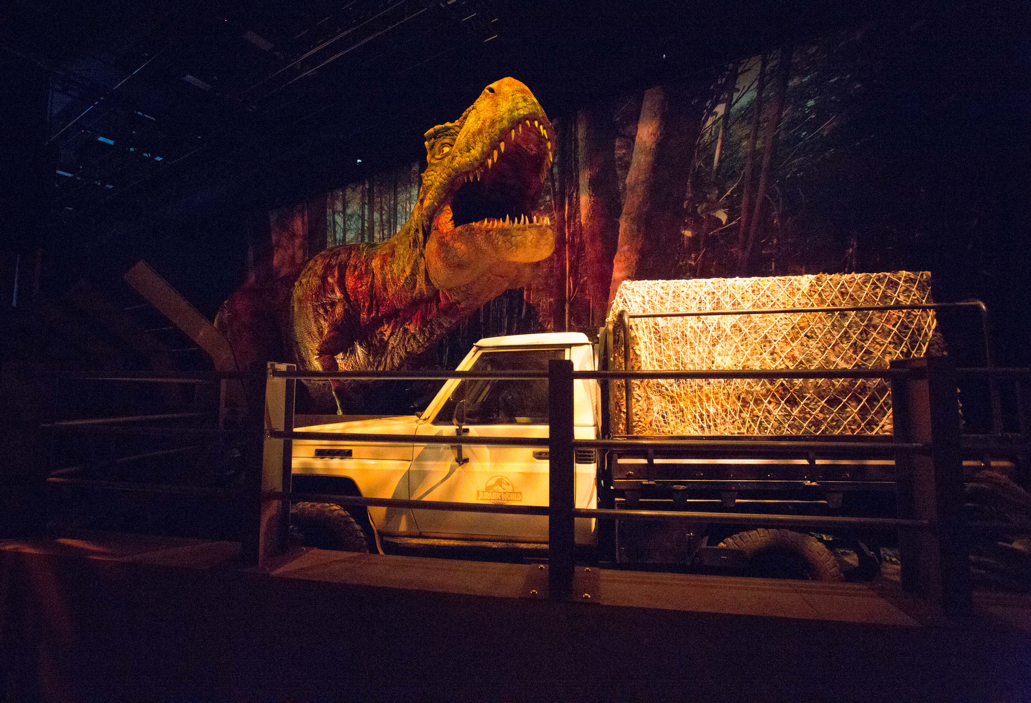 Exhibition:  Jurassic World: The Exhibition