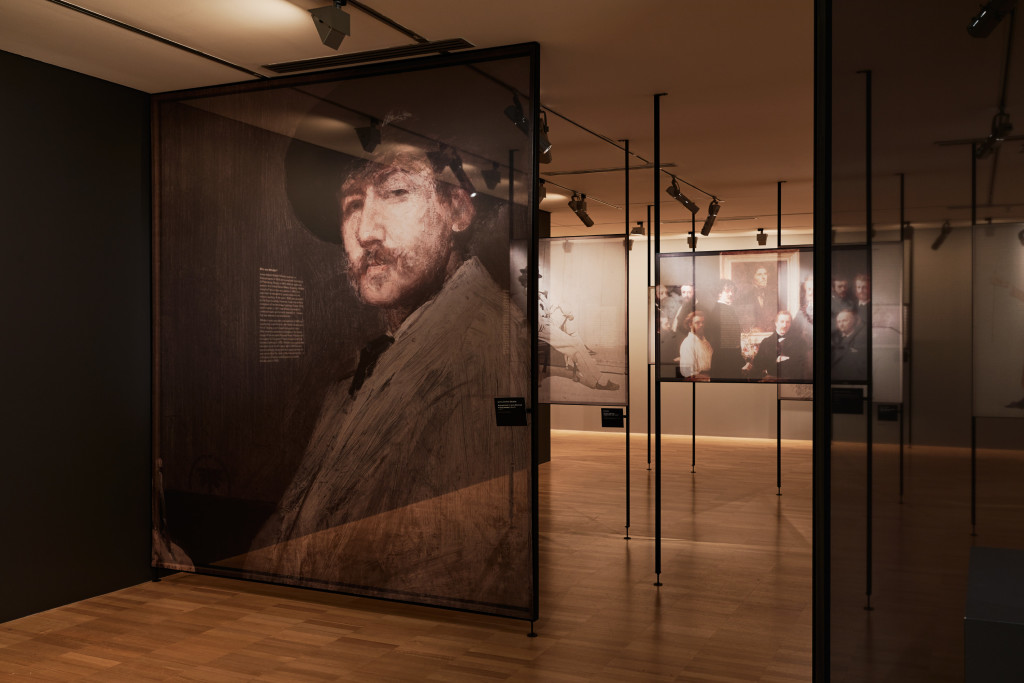 Whistler's Mother exhibition NGV. Pictures by Brooke Holm.