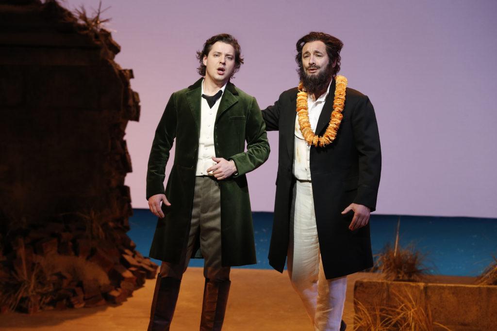 Dmitry Korchak and José Carbó in Opera Australia's The Pearlfishers.