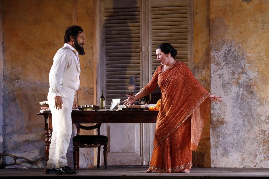 José Carbó, and Emma Matthews in Opera Australia's The Pearlfishers.
