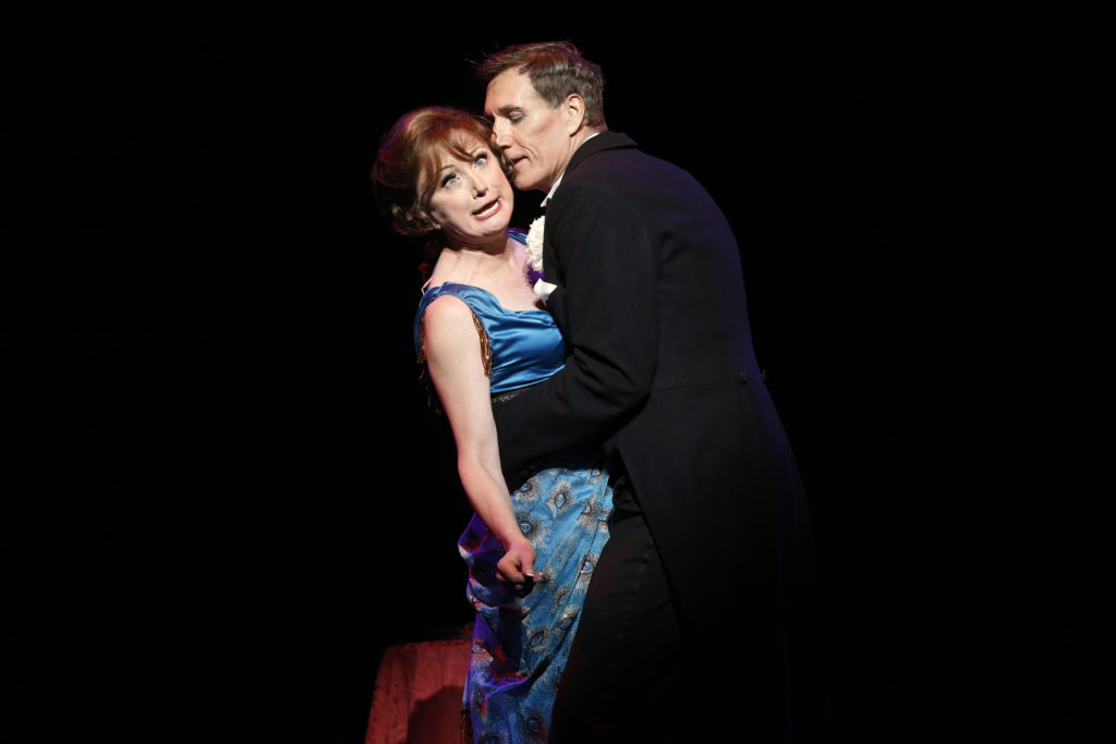 TPC FUNNY GIRL photo Jeff Busby_Caroline O'Connor and David Hobson