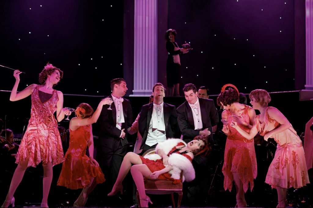TPC FUNNY GIRL photo Jeff Busby_Caroline O'Connor and Ensemble