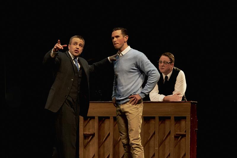 Simon Gleeson, Alex Rathgeber and Simon Maiden
