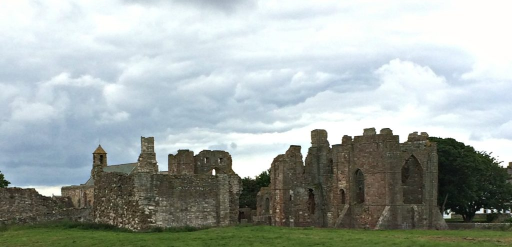 The priory on Lindisfarne
