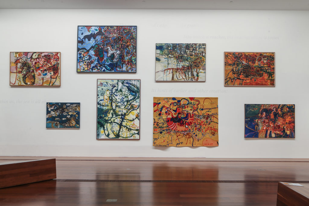 John Olsen's The You Beaut Country exhibition on at NGV
