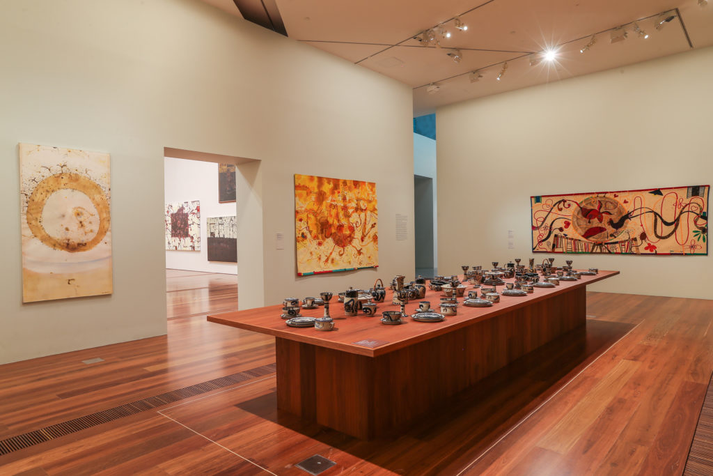 John Olsen's The You Beaut County exhibition on at NGV.