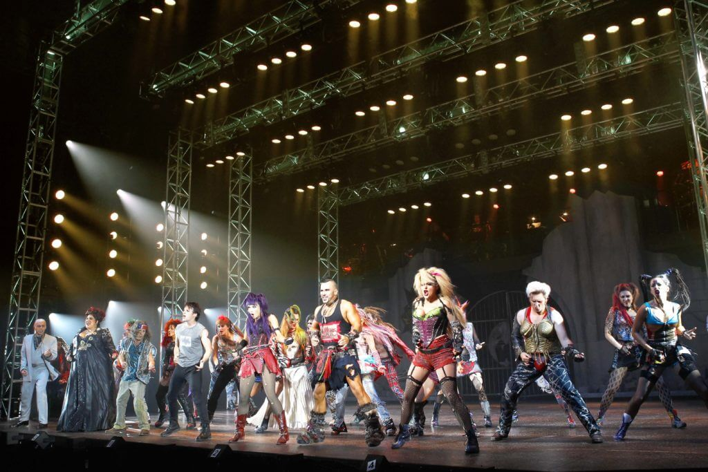 On Stage: We Will Rock You