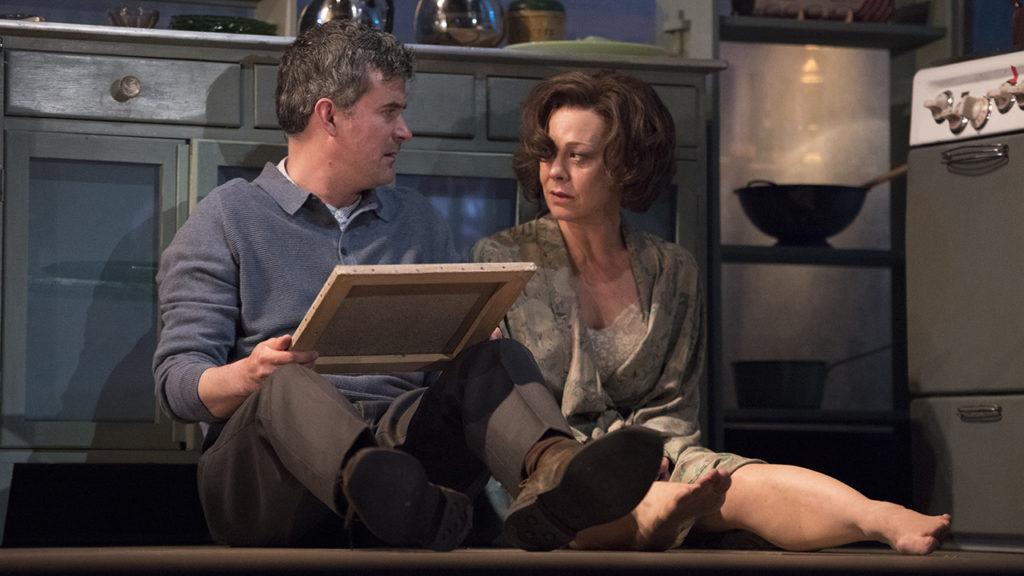 Nick Fletcher and Helen McCrory.