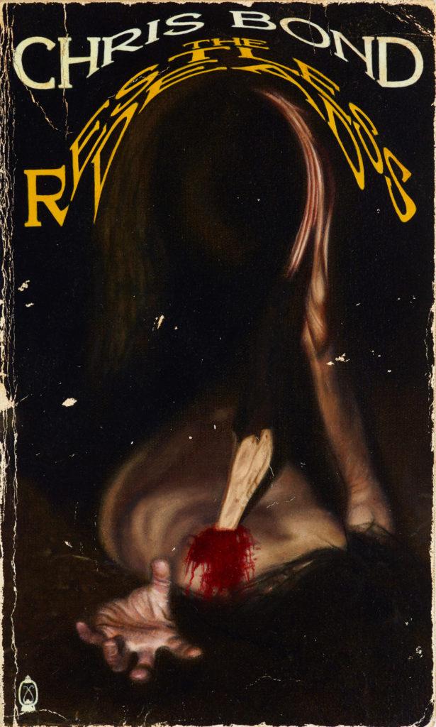 Chris Bond The Restless Dead (Portrait of the artist) oil on canvas, calico 53 x 44.5 cm