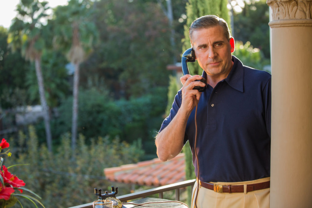 Phil (Steve Carrell) in a scene from CAFÉ SOCIETY directed by Woody Allen, in cinemas October 20, 2016. An Entertainment One Films release.