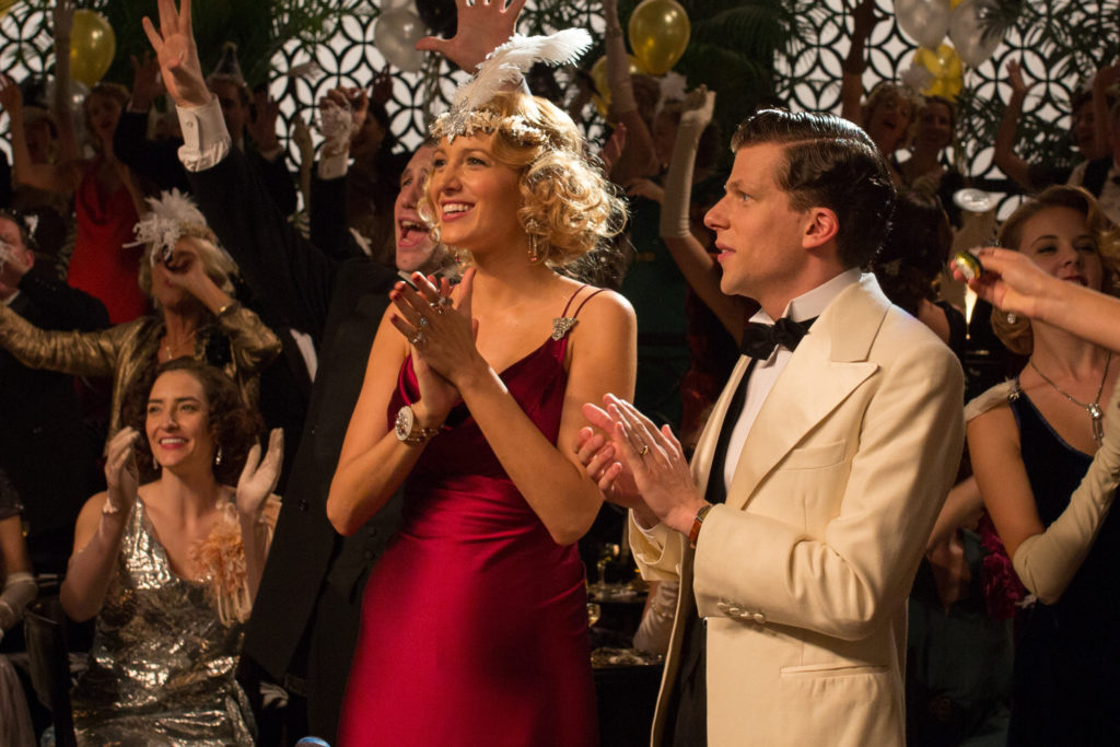 Veronica (Blake Lively) and Bobby (Jesse Eisenberg) in a scene from CAFÉ SOCIETY directed by Woody Allen, in cinemas October 20, 2016. An Entertainment One Films release.