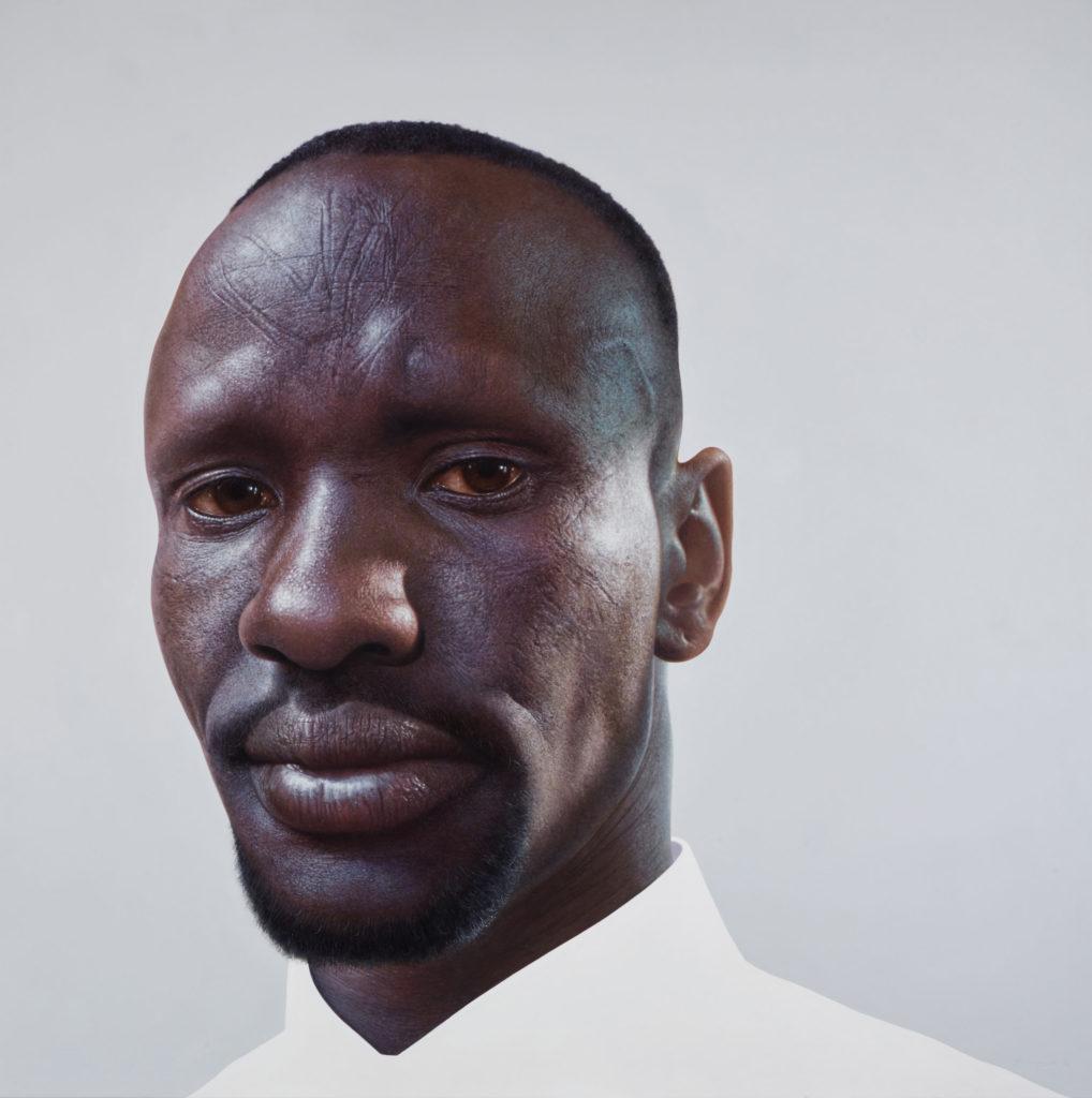 Nick Stathopoulos's portrait of Deng Adut.