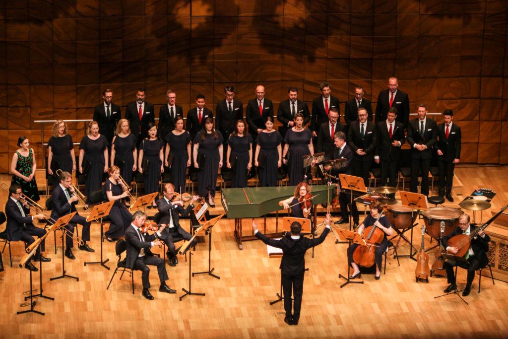The Australian Brandenburg Orchestra in action
