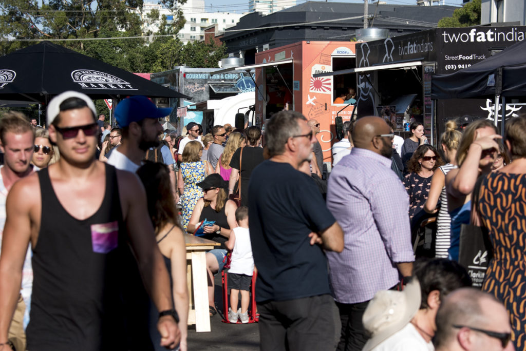 Attraction: South Melbourne Night Market