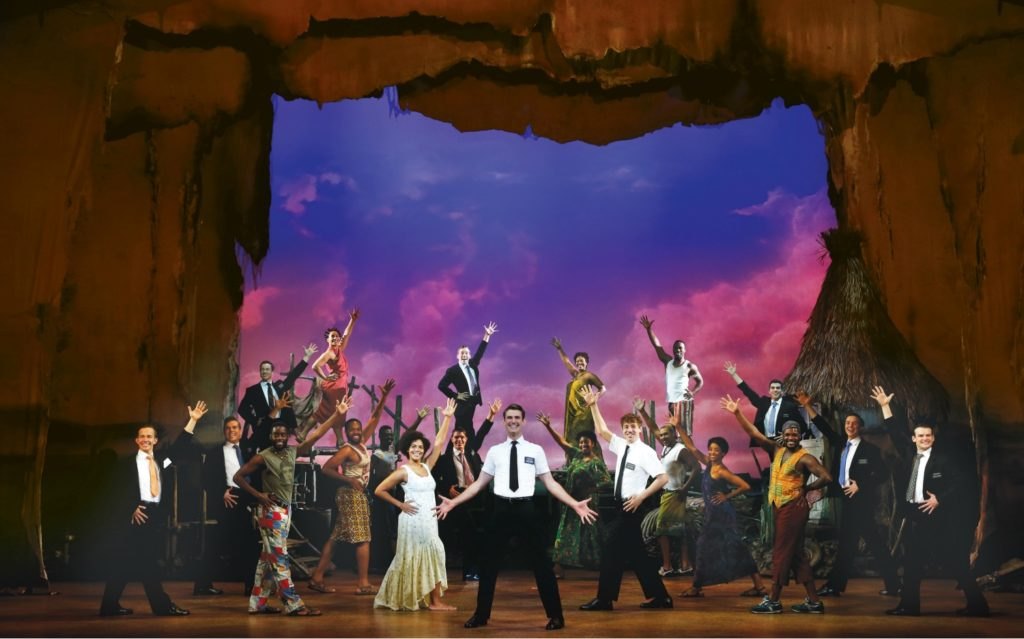 On Stage: The Book of Mormon