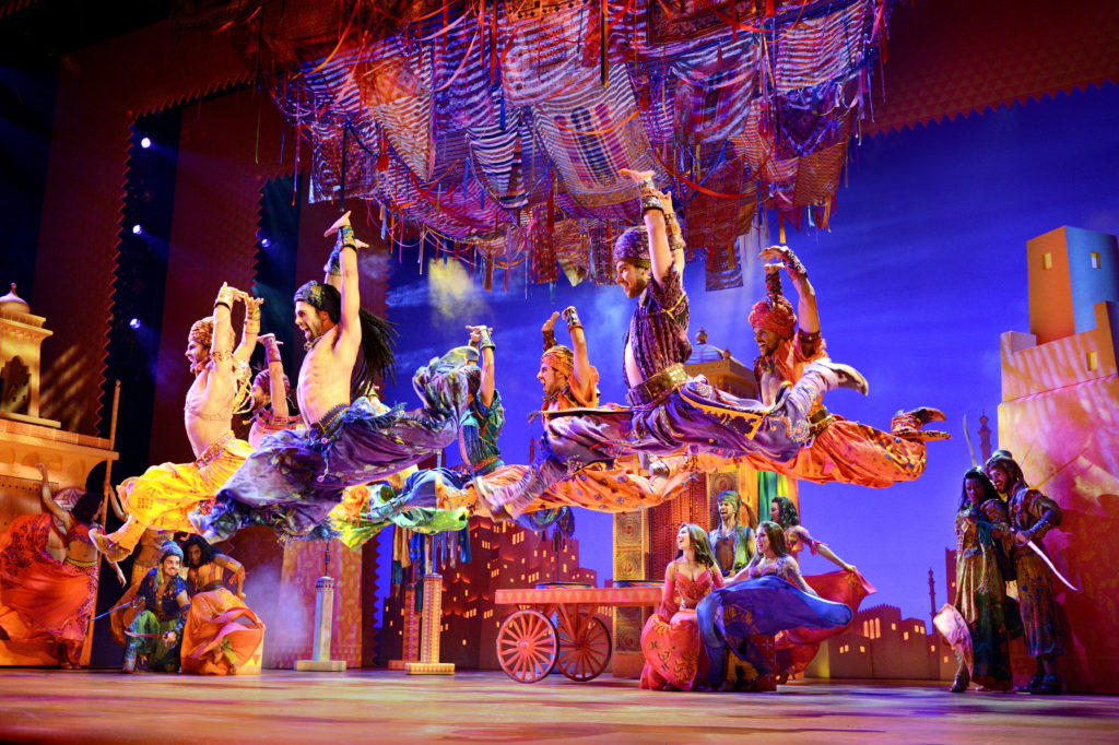 The cast of Aladdin. Image Deen van Meer.