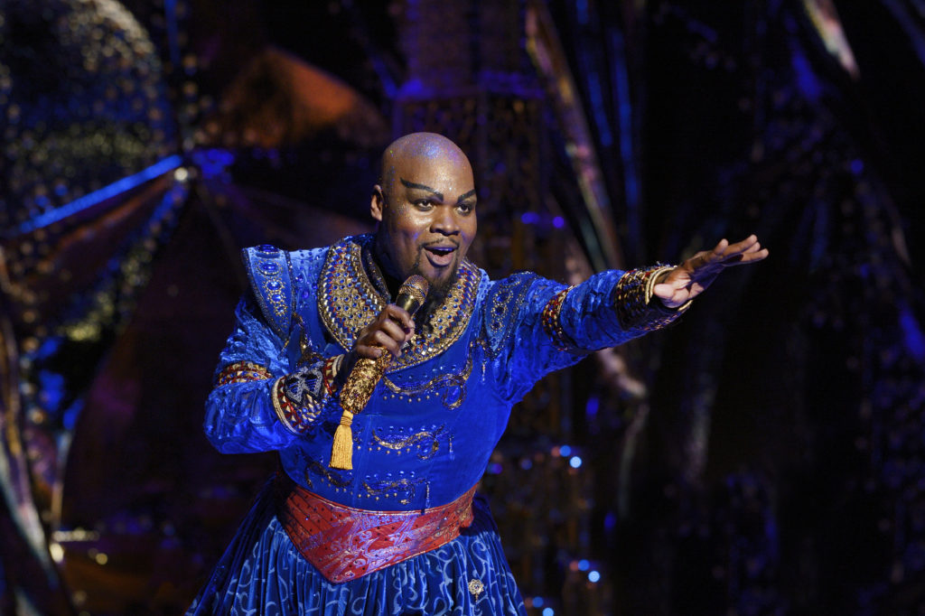 Michael James Scott makes a great Genie.