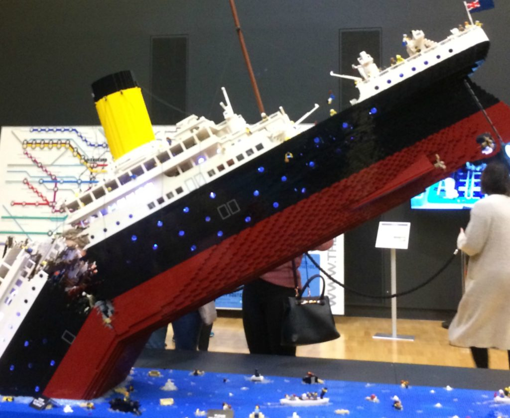 This model the Titanic was our favourites.