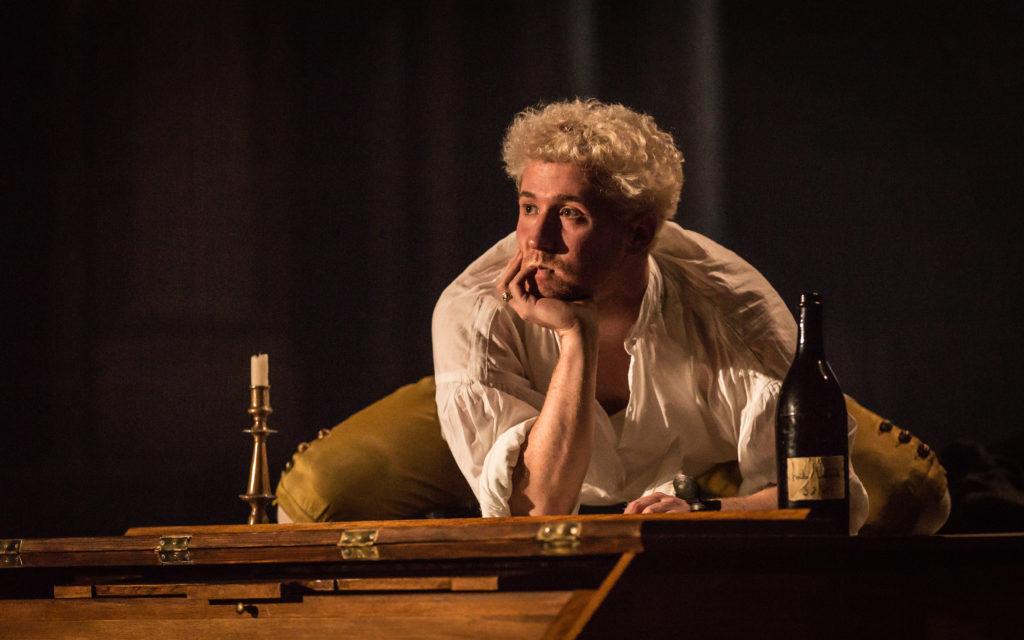 Adam Gillen as Wolfgang Amadeus Mozart.*