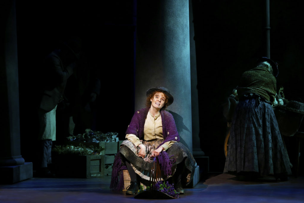 Anna O'Byrne is a wonderful Eliza Doolittle.