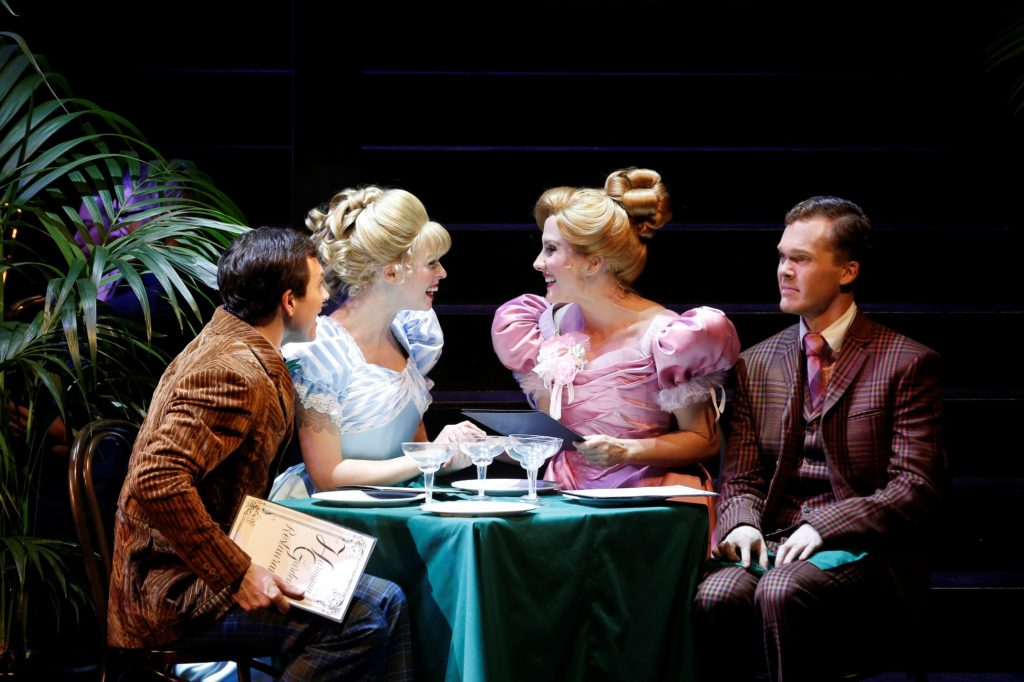 Nigel Huckle, Imogen Moore, Verity Hunt-Ballard and Glenn Hill in Hello, Dolly!