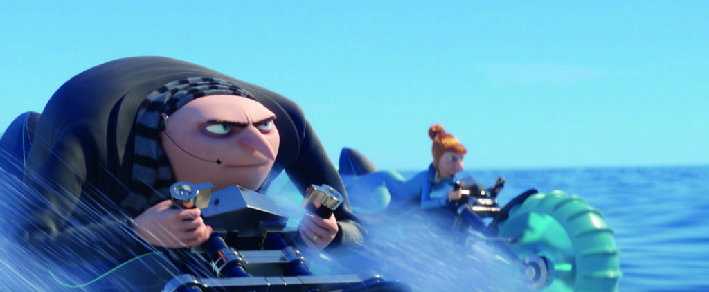There's plenty of fast chases in Despicable Me 3!