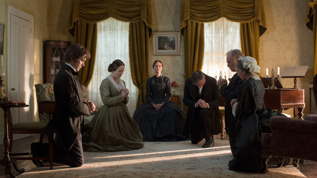 The cast of A Quiet Passion
