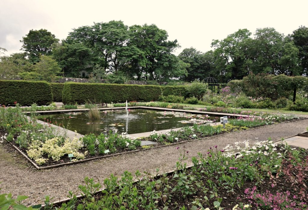 One of the gardens at Dunvegan Castle