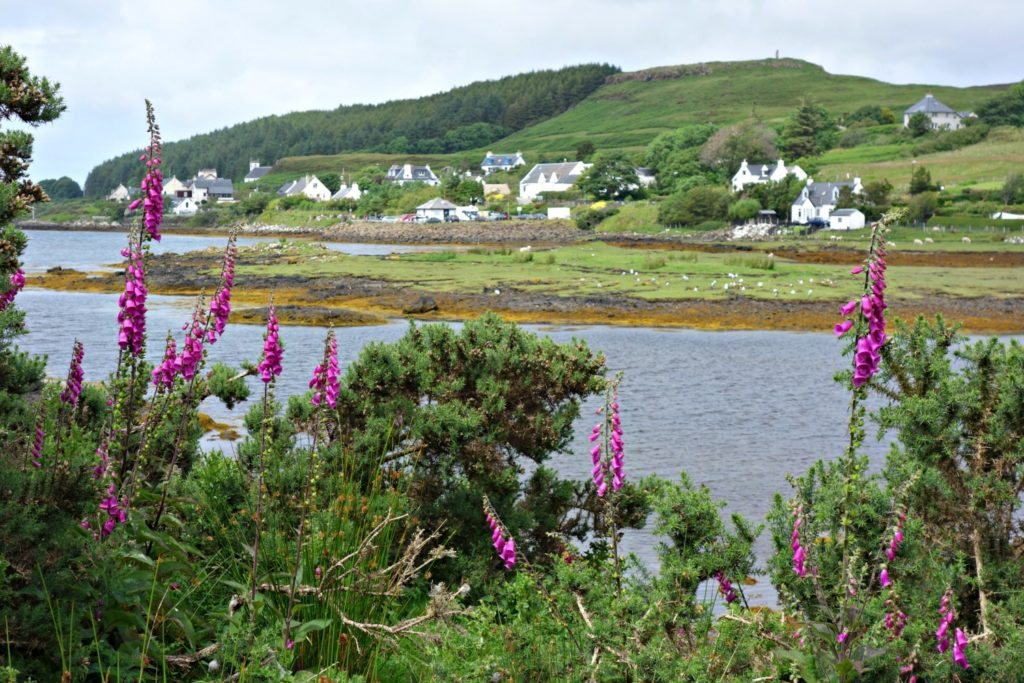 The picturesque Loch Dunvegan