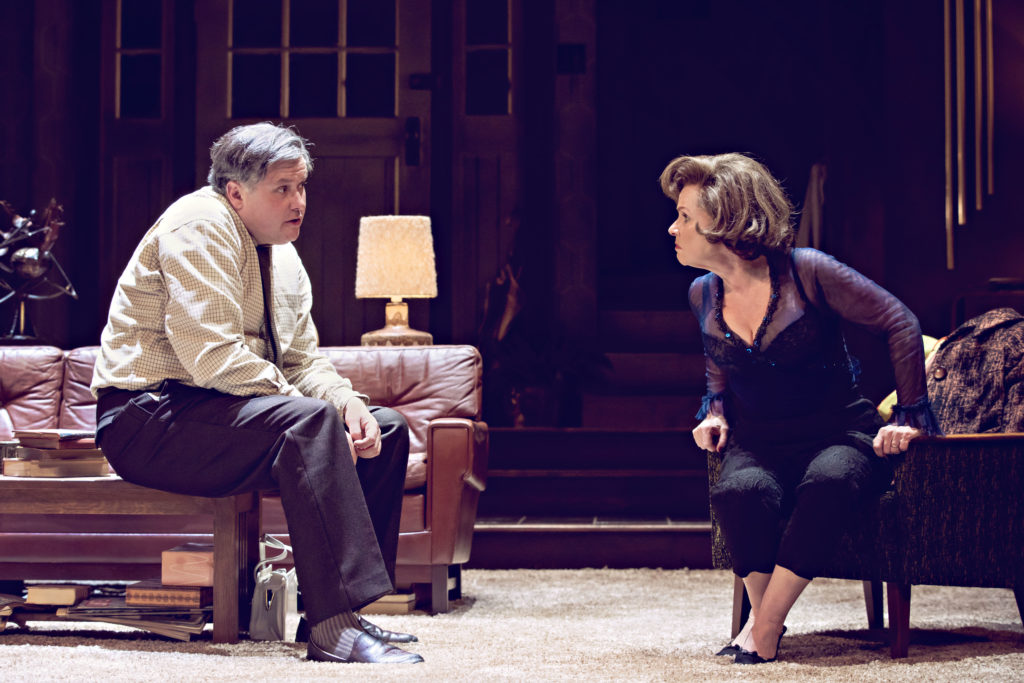 Conleth Hill and Imelda Staunton in 'Who's Afraid of Virginia Woolf?'