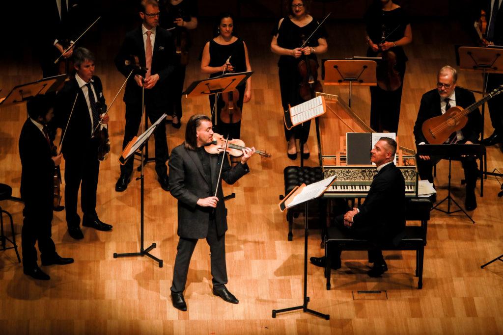 Dmitry Sinkovsky, Paul Dyer and the Australian Brandenburg Orchestra.