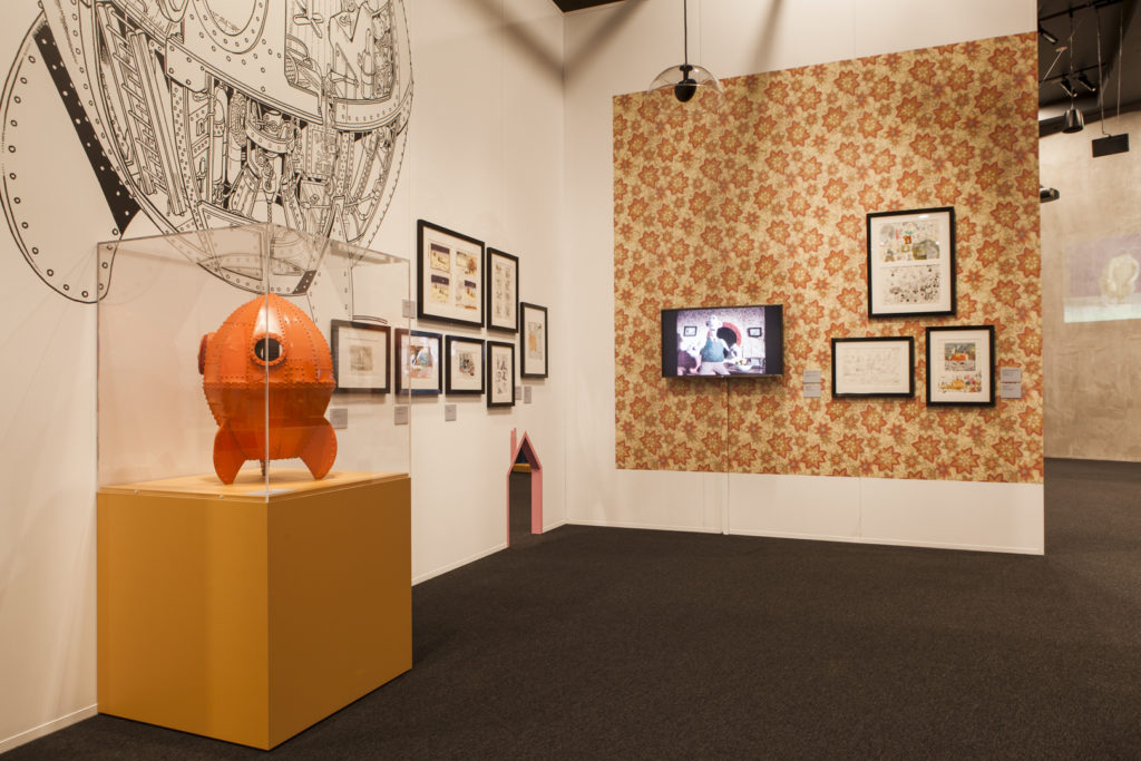 Part of the Wallace & Gromit and Friends: The Magic of Aardman at ACMI