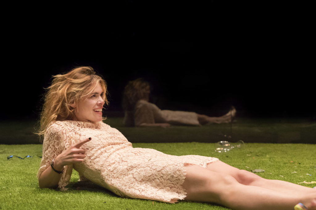 Billie Piper (Her) in Yerma at the Young Vic.