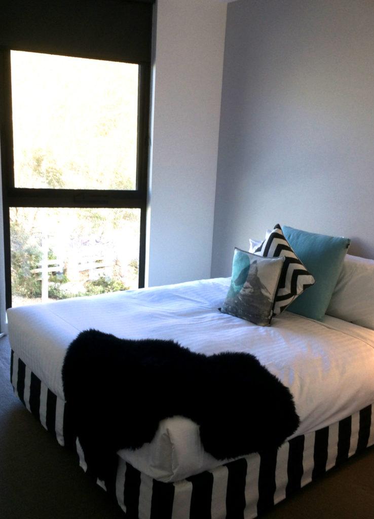 The second bedroom at QT Falls Creek.