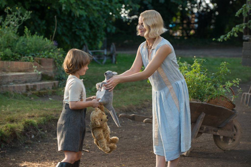 Will Tilston and Margot Robbie in Goodbye Christopher Robin